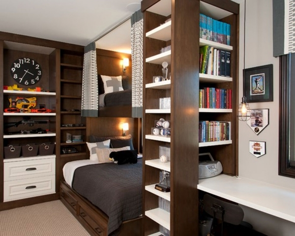 Alluring Attractive Interior Small Bedroom Design Featuring Single Bedding Storage Ideas For Small Bedrooms