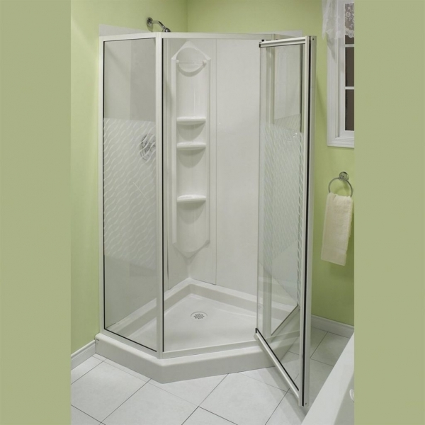 Awesome Corner Shower Stalls Bathroom Interior Small Shower Enclosures