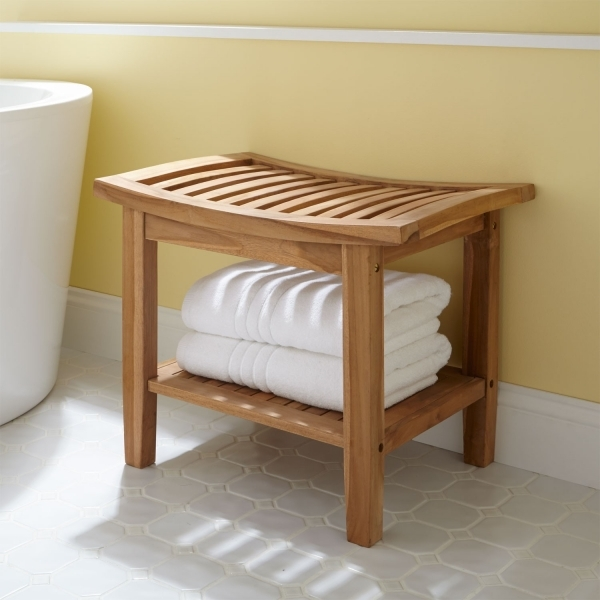 Beautiful Small Bathroom Bench Fractal Art Gallery Small Bench For Bathroom