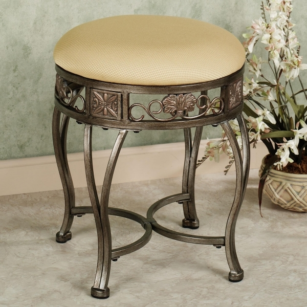 Gorgeous Awesome Vanity Chair For Bathroom Part 5 Small Swivel Vanity Small Chairs Forbathroom