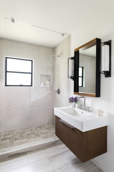 Image of Brown Design Group Small Bath Remodel Small Bathroom Design