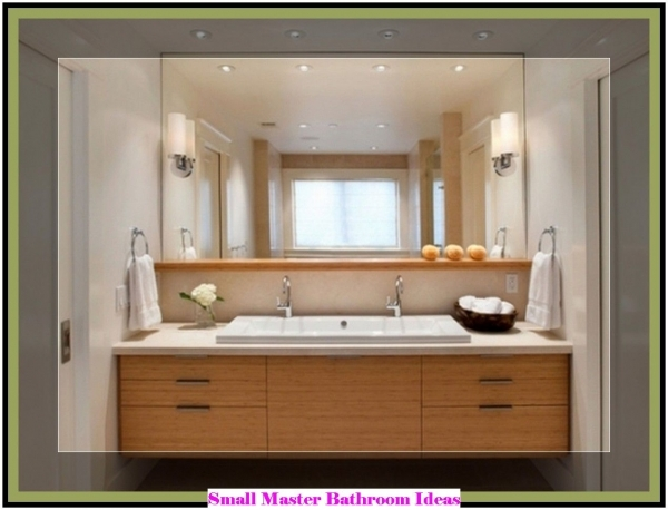 Image of Small Master Bathroom Ideas Wooden House Small Houses Master Bathrooms