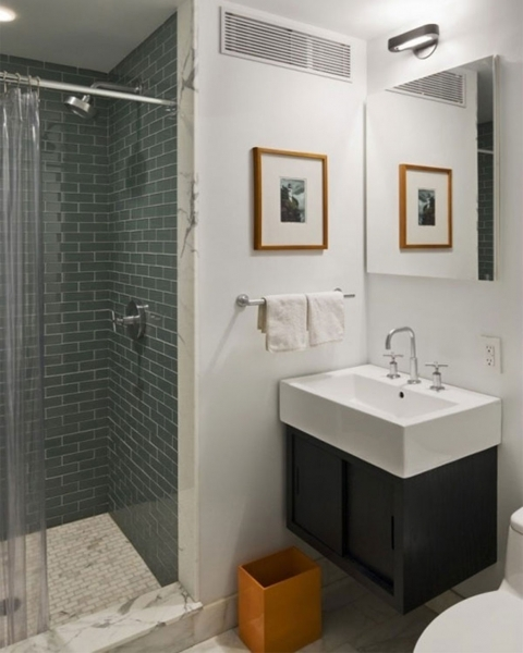 Marvelous Tiny Square Washbasin Closed Sweet Picture Under Lighting For Nice Small Bathroom With Shower