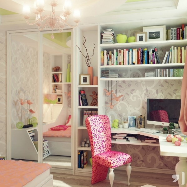 Outstanding Teenage Girl Bedroom Ideas For Small Rooms Thehomestyleco Small Teen Girl Bedroom Ideas