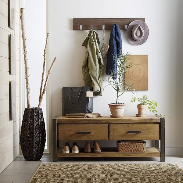 Picture of Best Coat Rack Bench Ideas Small Benches For Entryway