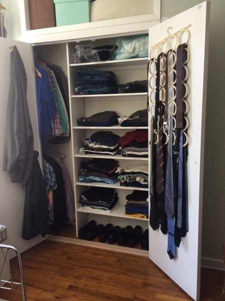Picture of Hub Got A Custom Closet For Our 10th Wardrobe Small Depth