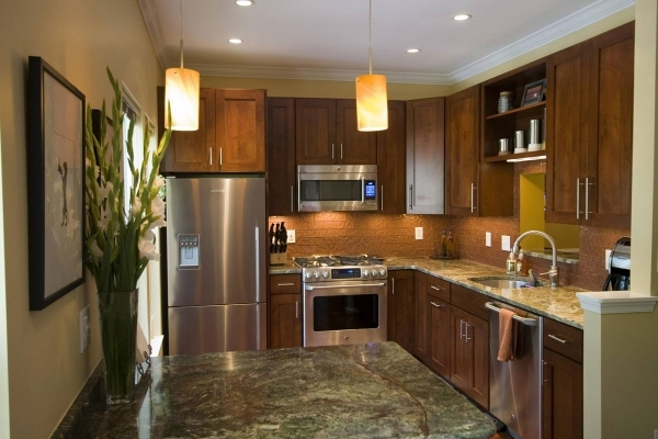 Picture of Kitchen Design Ideas And Photos For Small Kitchens And Condo Small Kitchen And Bath Remodels