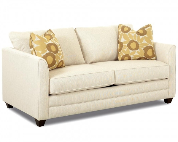 Picture of Small Sleeper Sofa With Full Size Mattress Klaussner Wolf And Small Sleeper Couch