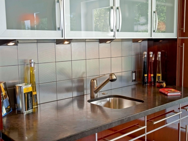 Picture of Tile For Small Kitchens Pictures Ideas Amp Tips From Hgtv Small Kitchen Sink Design