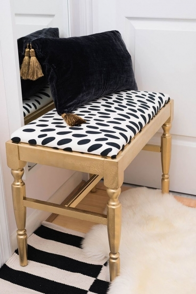 Stylish One Room Challenge The Reveal Chic Master Bedroom Benches Small Bedroom Benches