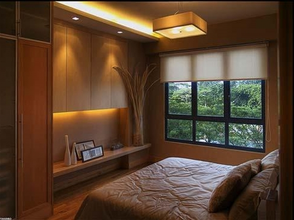 Wonderful Awesome Beige Wood Glass Cool Design Classic Very Small Bedroom Small Bedroom With Full Bed