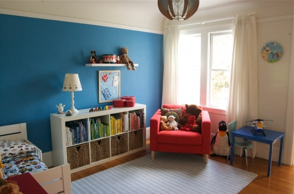 Alluring Beauteous Bedroom Toddler Boys Room With Sport Theme Net Modern Furnish Small Boys Sport Bedroom