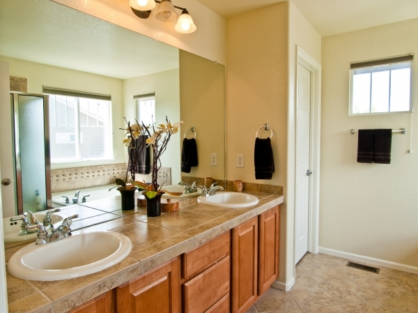Amazing Bathroom Bedroom Furniture Interior White Tiled Double Shower Next Small Houses Master Bathrooms