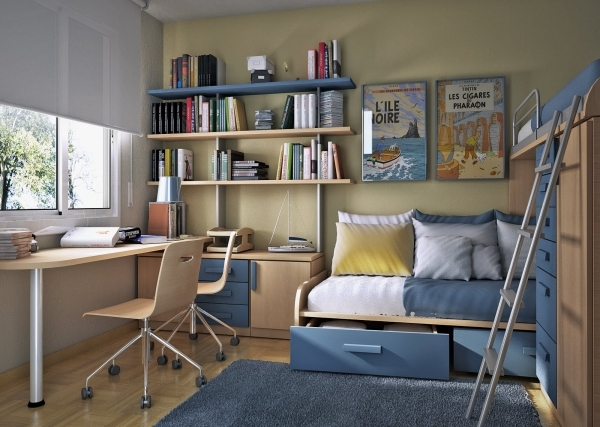 Awesome 9 Cool Bedroom Designs For Small Rooms Aida Homes Best Decorating For Small Spaces