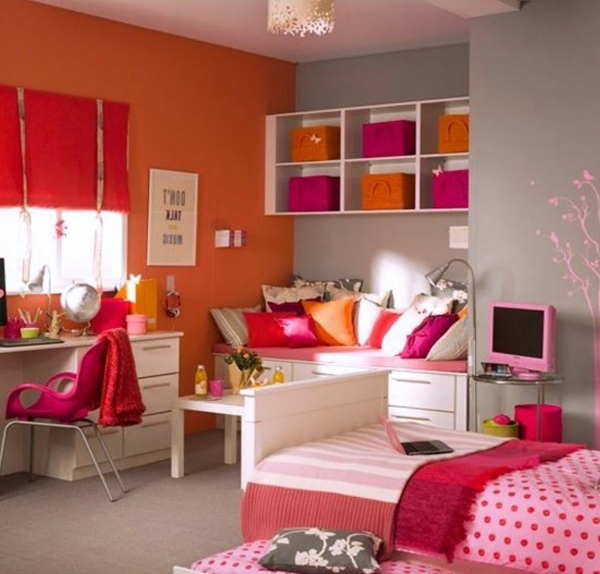 Awesome Teenage Girl Room Ideas Designs Small Space Girls Room Ideas