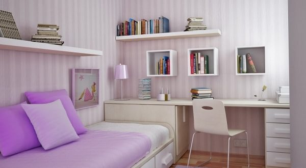 Small Space Girls Room Ideas
