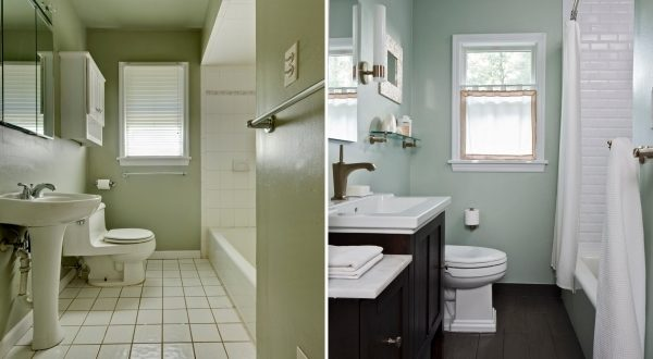 Paint For Small Bathroom