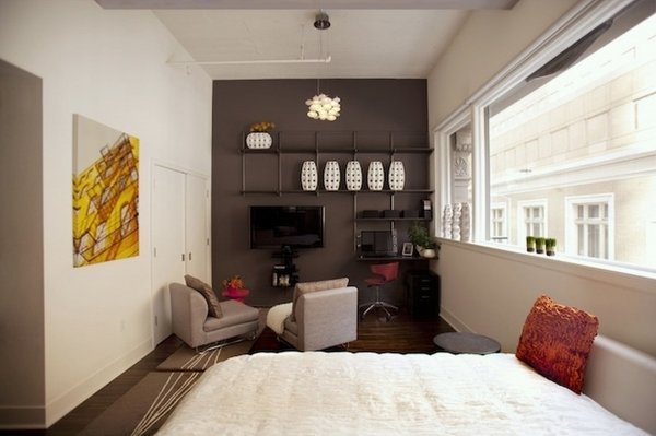 Gorgeous Apartment Bedroom Ideas Condo Decorating Ideas Basement Studio Small Studio Apartment Decorating Ideas