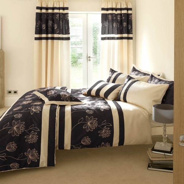 Image of Bedroom Curtain Styles For Small Bedroom Windows With Floral Bed Best Curtain For A Small Bedroom