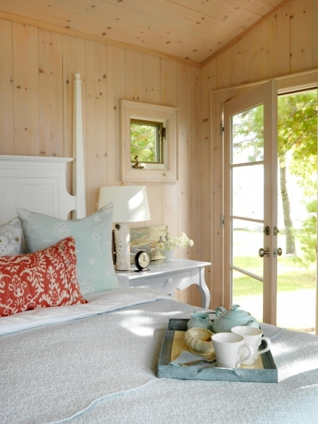 Image of Cottage Decorating Ideas Interior Design Styles And Color Small Cabin Bedroom Ideas