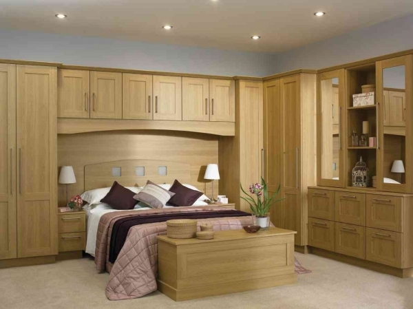 Image of Free Standing Wardrobes Ainove Fitted Bedroom Furniture For Small Rooms