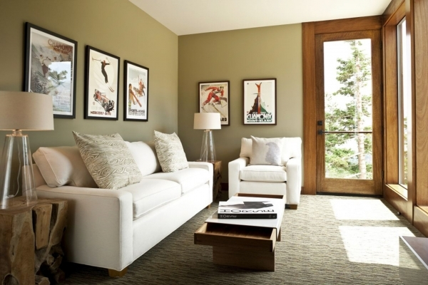 Picture of Ideas For Small Living Rooms Design Gallery Sitting Rooms Small