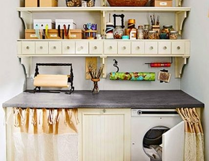 Cheap Laundry Room Storage Ideas For Small Spaces