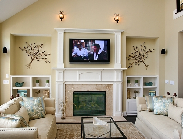 Awesome Designs With Tv And Fireplace Great Room Designs Living Room Small Living Room With Fireplace And Tv