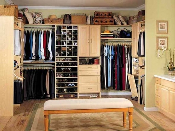 Awesome Walk In Wardrobe Small Room Come With White Wooden Shoes Storages Wardrobe Small Room