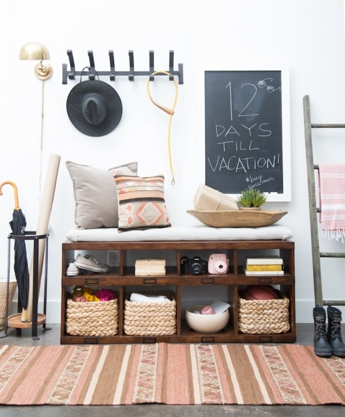 Best A Small Space Entryway Makeover Camille Styles Pottery Barn Small Spaces