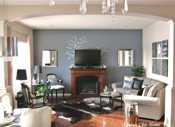 Best Decorating Ideas For Living Room With Fireplace Small Living Room With Fireplace And Tv