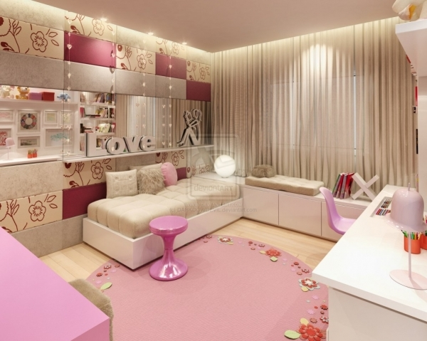Delightful Room Design For Teenage Girls Home Design Interior Small Bedroom For Girls