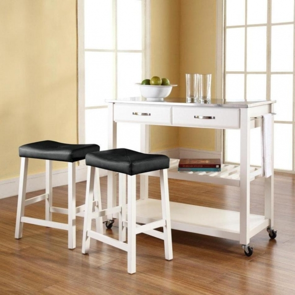 Delightful Small Kitchen Island With Stools Home Design And Decor Best Small Kitchen Island With Stools