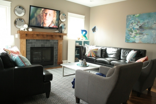 Fantastic 1000 Images About Family Room Ideas On Pinterest Family Room Small Living Room With Fireplace And Tv