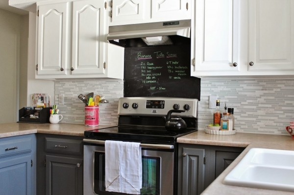 Fascinating Remodelaholic Grey And White Kitchen Makeover Small Gray And Off White Kitchens