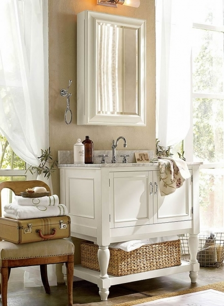 Gorgeous Appealing Pottery Barn Bathroom Vanity Ideas For Minimalist Pottery Barn Small Spaces