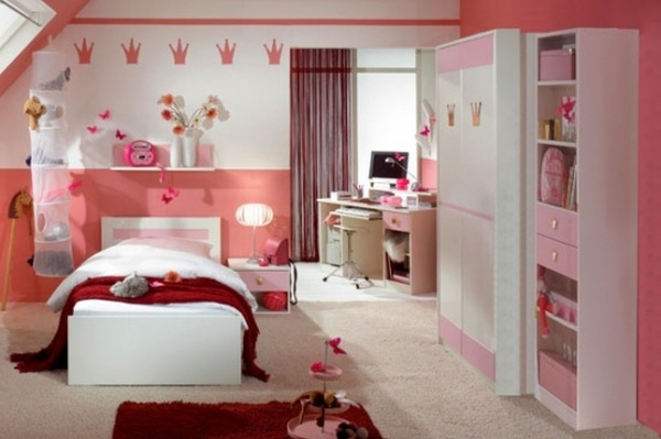 Gorgeous Small Bedrooms Little Girl Bedroom Wall Ideas Small Bedroom For Girls