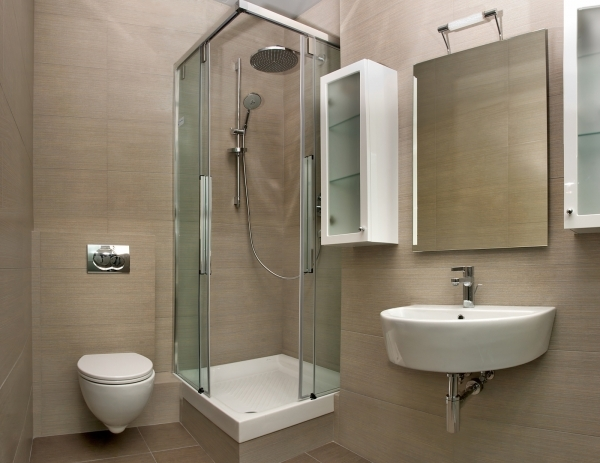 Image of Functional Folding Shower For Small Bathrooms In Bathrooms For Small Shower Spaces