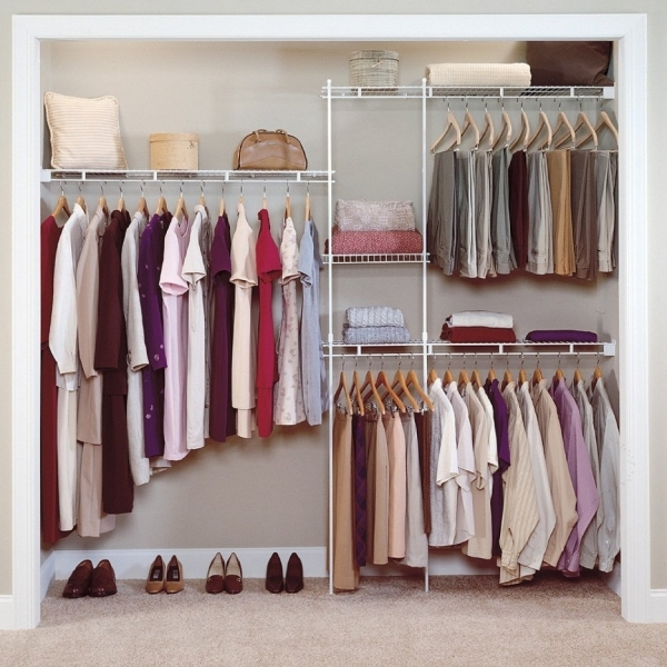 Image of Lovely Walk In Wardrobe Small Room Interior Plebio Interior And Wardrobe Small Room