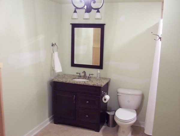 Inspiring Small Bathroom Design Without Tub Bathroom Dolly Rama Simple Small Bathroom Designs