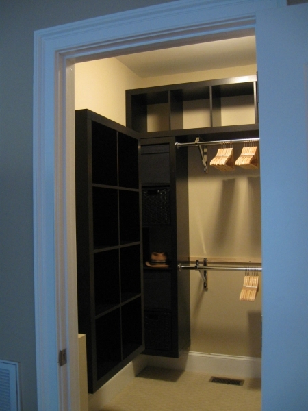 Remarkable Expedit Closet Small Walk In Ikea Hackers Ikea Hackers Extra Small Walk In Closet Ideas