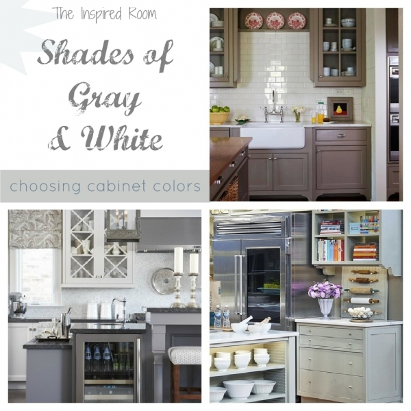 Remarkable Shades Of Neutral Gray Amp White Kitchens Choosing Cabinet Colors Small Gray And Off White Kitchens