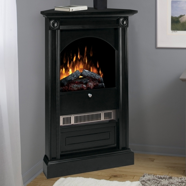 Stunning Dimplex Chelsea Corner Electric Fireplace At Hayneedle Small Corner Firplace Electric