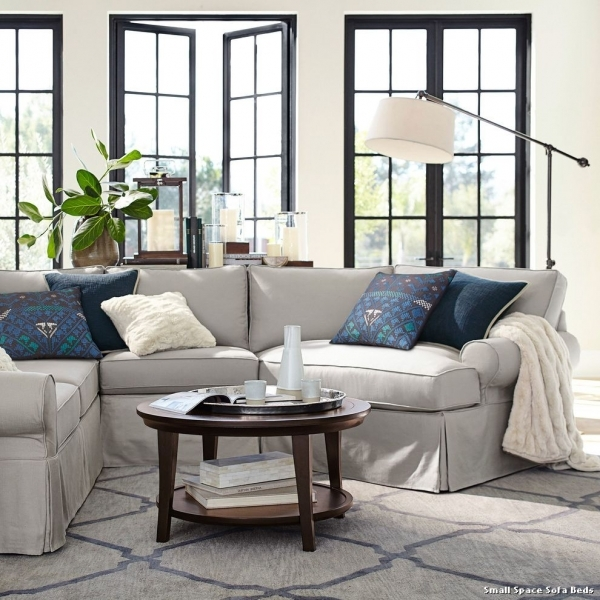 Stunning Small Space Sofa Beds Pottery Barn To Contemporary Living Pottery Barn Small Spaces