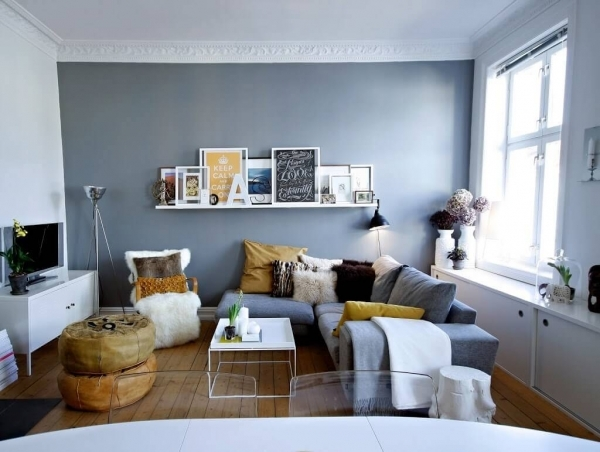 Image of 46 Tiny Living Rooms That Pack A Big Style Punch Page 15 Of 46 Tiny Living Room Big Style