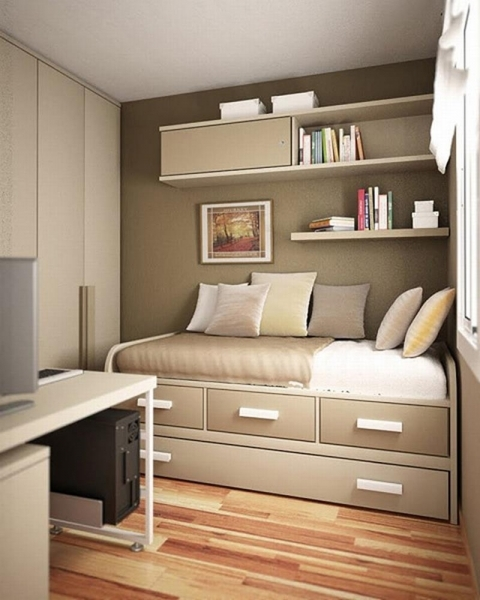 Incredible 23 Efficient And Attractive Small Bedroom Designs Home Epiphany Bed Designs For Small Rooms