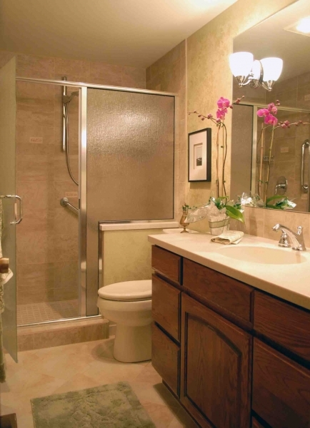 Incredible Best Small Bathroom Ideas With Traditional Teak Unfinished Wooden Best Small Bathroom Remodels