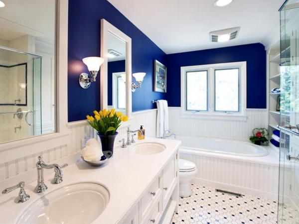 Inspiring Different Stunning Colors For Small Bathroom Ideas Colors Small Barthroom