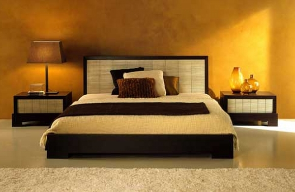 Inspiring Glorious Master Size Platform Bed Added Small Nightstands Also Www Best Colour For Small Size Bedroom