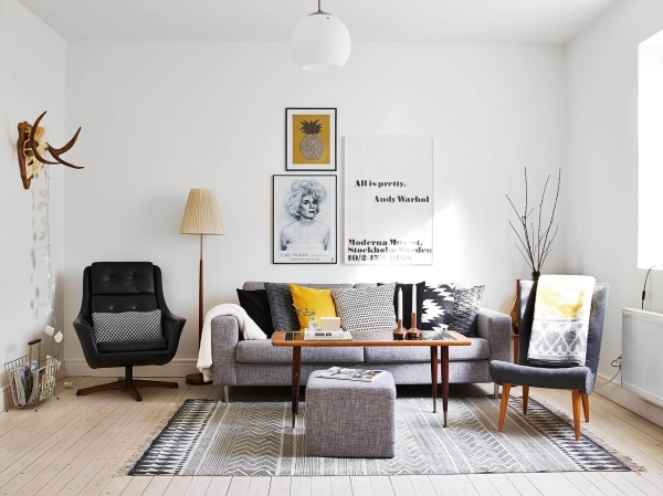 Marvelous 46 Tiny Living Rooms That Pack A Big Style Punch Page 4 Of 46 Tiny Living Room Big Style